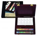 Rembrandt water colour box Traditional pans
