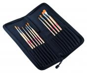 Talens Art Creation brushes set polyester with organizer (10 brushes)
