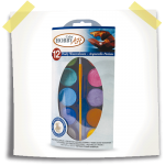 HOBBY COLOR ART pearly watercolours SET 12