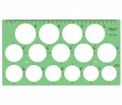 Linex 1216s Circle Template 36-50mm