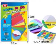 MPAPEL RUBBER ADHESIVE SHEET 20X30 2MM